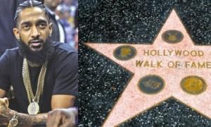 Nipsey Hussle obtient son étoile sur le Walk Of Fame à Hollywood