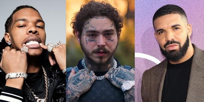 Post Malone, Drake et Lil Baby sont les rappeurs les mieux payés du monde