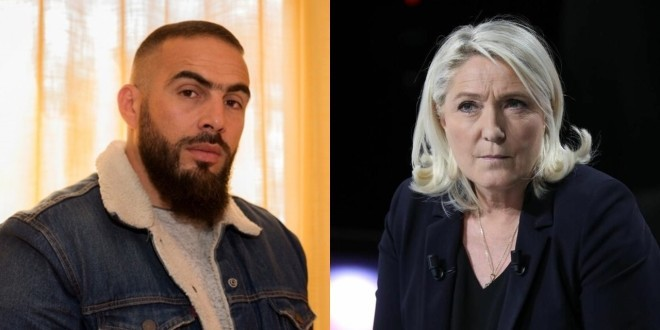 Médine reprend des paroles du titre ''Bande Organisée'' pour troller Marine Le Pen
