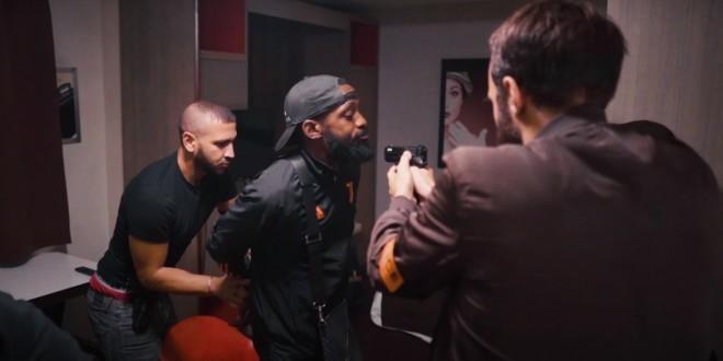 Da Uzi est traqué par la police dans le clip de ''Le dehors ''