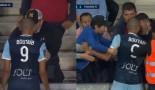 Une bagarre éclate entre un joueur du Havre et un supporter en plein match (Vidéo)