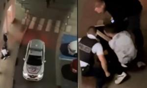 Un Policier filmé en train de tabasser un jeune au sol à Noisy-le-Grand (Vidéo)