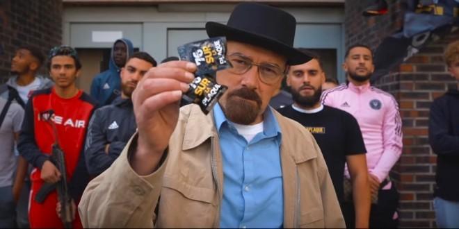 Deux rappeurs font le buzz en ramenant le sosie de Heisenberg pour leur clip