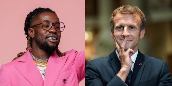 Jok'Air participe au cotés d'Emmanuel Macron et d'autres stars du foot à un match de charité