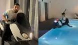 Momo Henni sacrifie un T-Max après le match nul de l'OM contre le PSG (Vidéo)