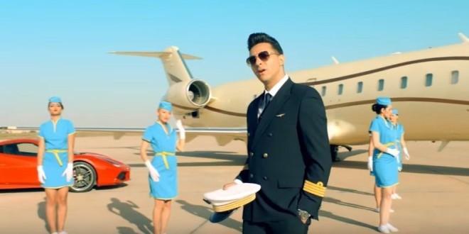 L'Algérino s'ambiance à bord de son Jet Privé dans son nouveau titre ''Il est où ?''