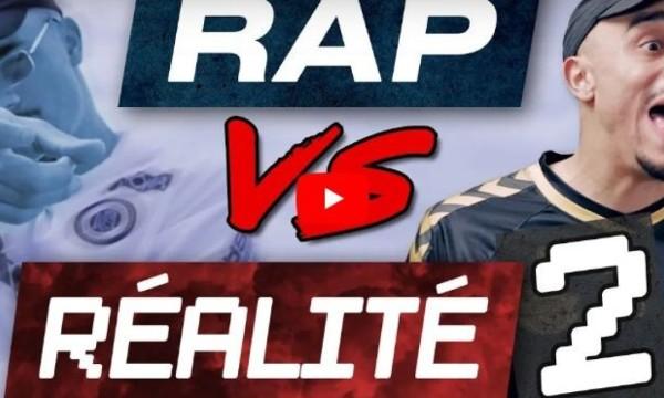 """Mister V revient avec une vidéo parodie tellement drôle dans """"Rap VS Réalité 2"""""""