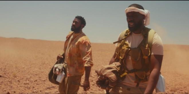 Vegedream est au milieu du désert avec Damso dans le clip ''Personne''