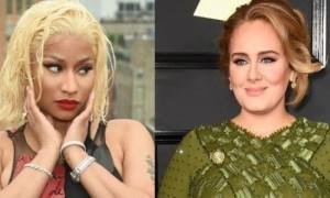 Nicki Minaj affirme avoir enregistré un morceau avec Adele !