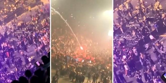 Concert de JUL : Grosse panique à l'AccorHotels Arena à Paris; les spectateurs attaqué à coups de fumigènes !