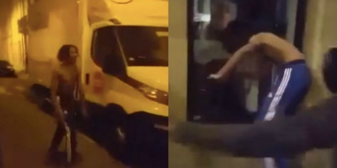 Une vidéo qui laisse supposer une bagarre violente de Gambi déchaîne les internautes sur Twitter ! (Vidéo)