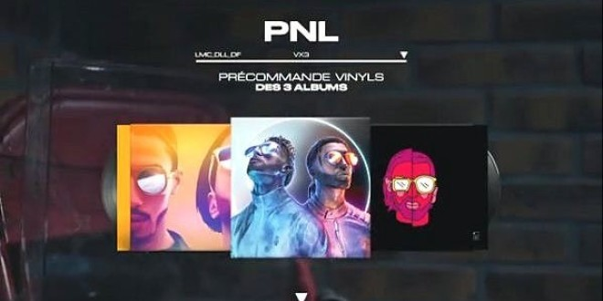 PNL annonce la sortie de la version vinyle pour les trois albums !