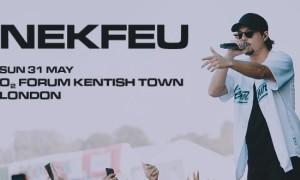 Nekfeu compte se produire le 31 Mai 2020 à Londres !