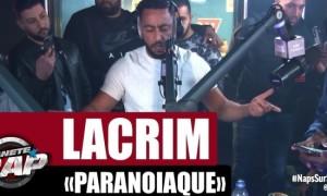Lacrim claque un freestyle monstrueux ''Paranoïaque'' sur Planète Rap ! (Vidéo)