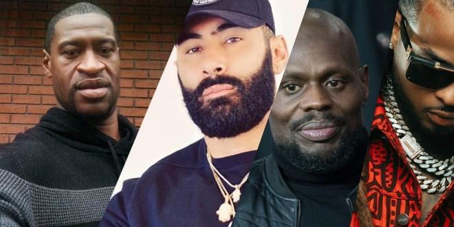 Les rappeurs réagissent au meurtre de George Floyd, tué par la police !