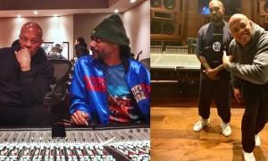 Kanye West, Snoop Dogg et Dr. Dre de retour ensemble en studio