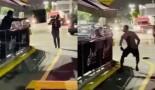 50 Cent s'embrouille avec un mec dans un restaurant et lui balance une table et une chaise (Vidéo)