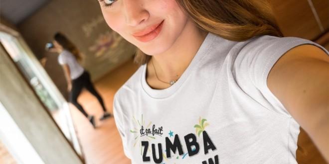 Le nouveau t-shirt magnifique ''Zumba Cafew'' sorti par le site Habibi's
