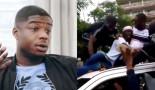 Ninho se fait surprendre par un fan euphorique à son arrivée à Kinshasa (Vidéo)