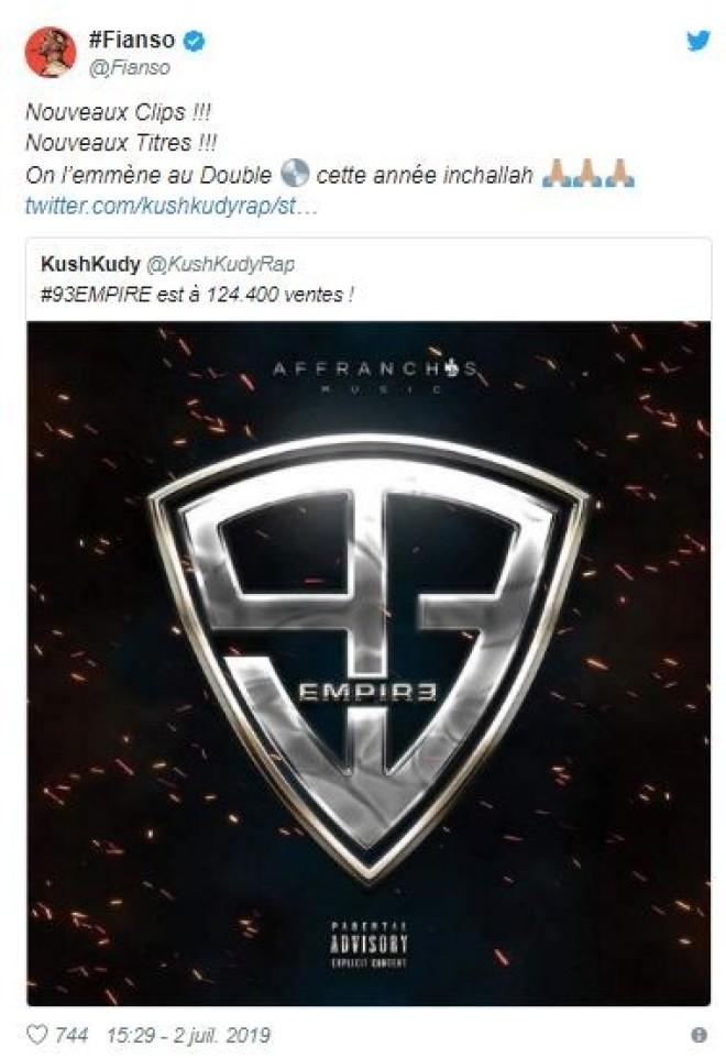 Sofiane annonce officiellement la réédition de son projet ''93 empire''