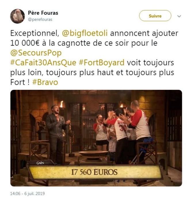 Fort Boyard : Bigflo et Oli ont fait un don de 10.000 euros au Secours Populaire !