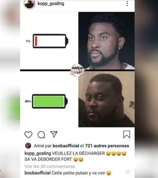 Booba menace Damso et l'insulte une nouvelle fois sur instagram !
