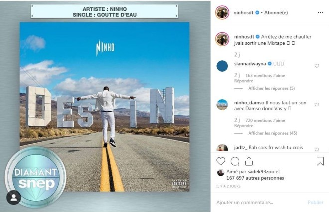 Ninho annonce une nouvelle mixtape pour très bientôt !