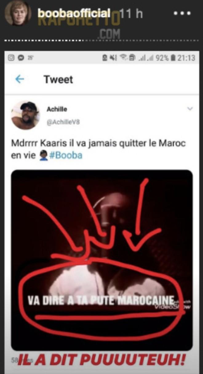 Booba publie un extrait vidéo où Kaaris insulte les femmes marocaines : Son concert au Maroc est annulé