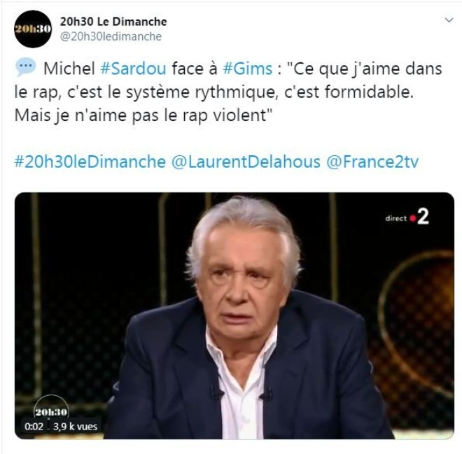 Booba humilie Michel Sardou et répond à ses critiques sur le rap violent !
