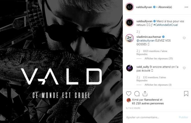 Vald dévoile la date de sortie de son nouvel album en direct du Japon ! (Vidéo)