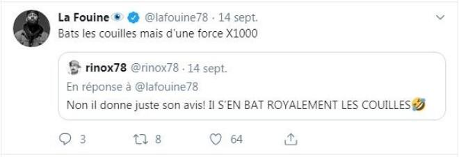 La Fouine réagit au combat de Booba x Kaaris et s'exprime sur son feat avec B2O !
