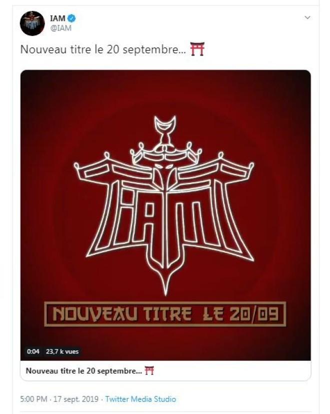 IAM annonce son grand retour avec un nouveau titre !