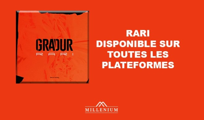 Gradur dévoile le clip vidéo de « Rari », le premier extrait de son nouvel album !
