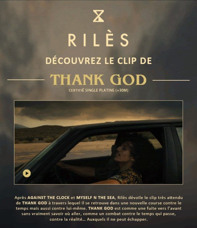 Rilès - THANK GOD (Clip Officiel)