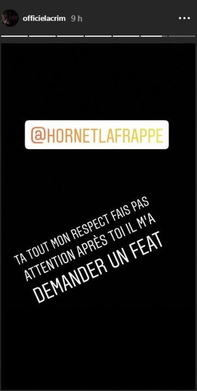 Lacrim répond à son tour à Fianso, et défend Hornet La Frappe ! (Photos)