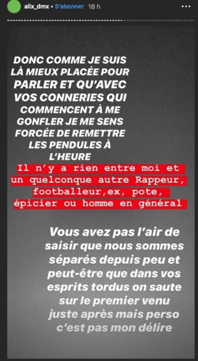 Nekfeu en couple avec Alix des Marseillais ? Elle réagit à la rumeur ! (Photo)