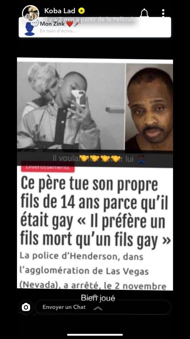 Koba LaD accusé d'homophobie, le rappeur réagit immédiatement ! (Vidéo)