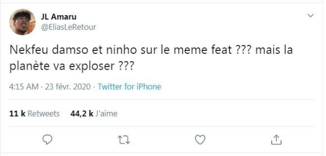 Ninho feat Nekfeu et Damso... le feat ultime ? Les rumeurs enflamment la toile !