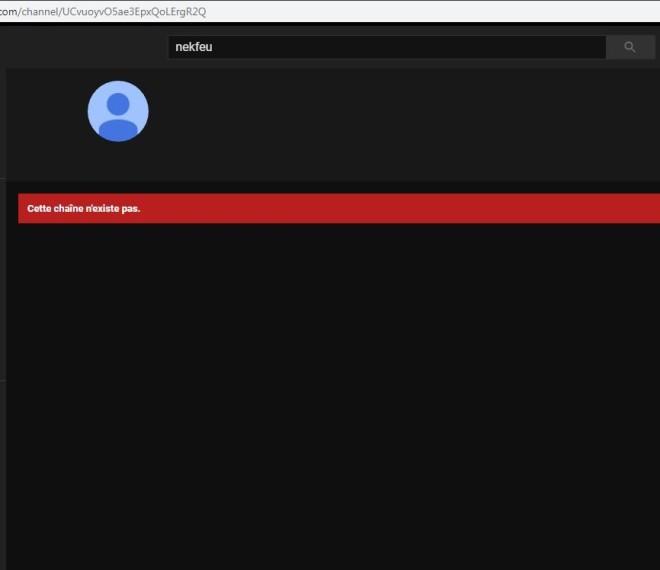 Nekfeu supprime sa chaîne Youtube officielle !