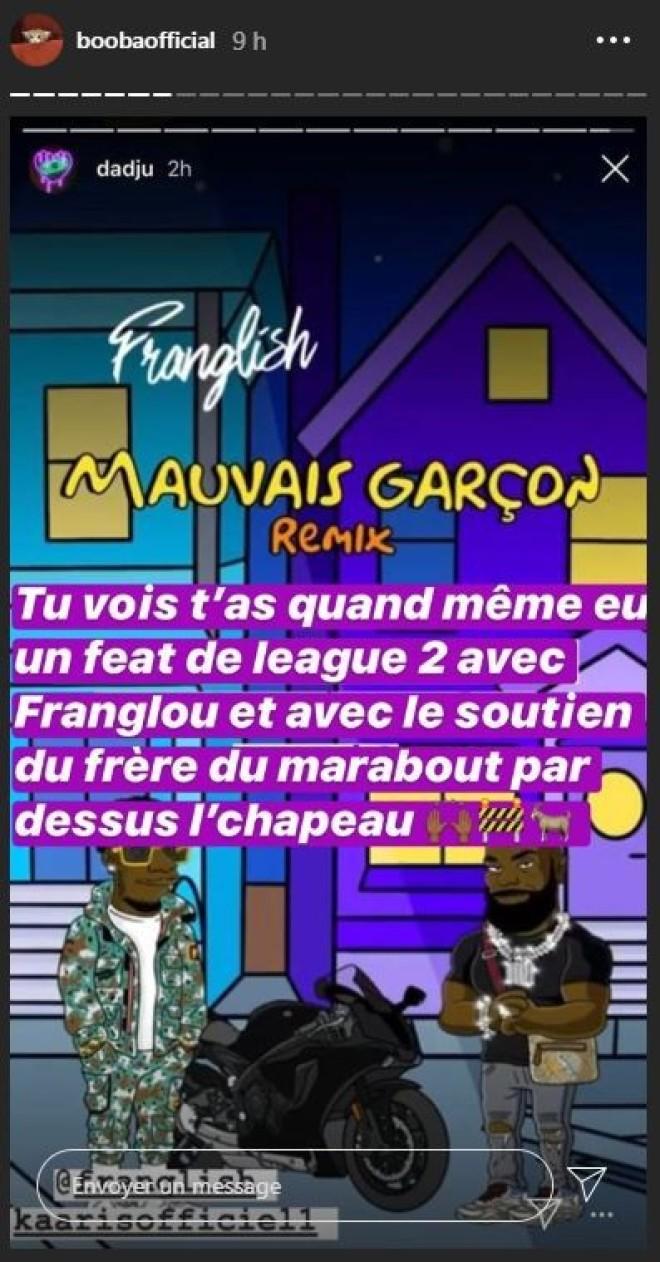 Kaaris de retour avec un nouveau titre feat Franglish, Booba dézingue les deux rappeurs