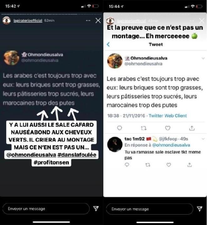 Booba clash violemment OhmondieuSalva, qui a aussi insulté les marocaines
