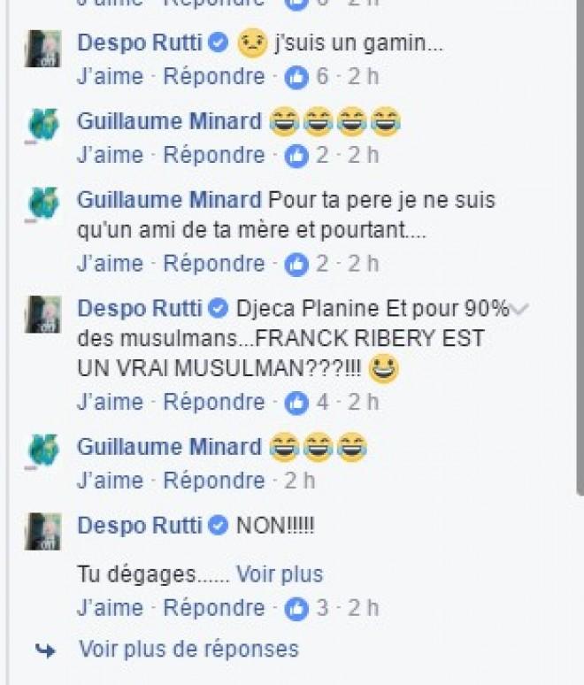 Après avoir insulté Sofiane, Despo Rutti s'en prend au Maghrebet à l'Islam