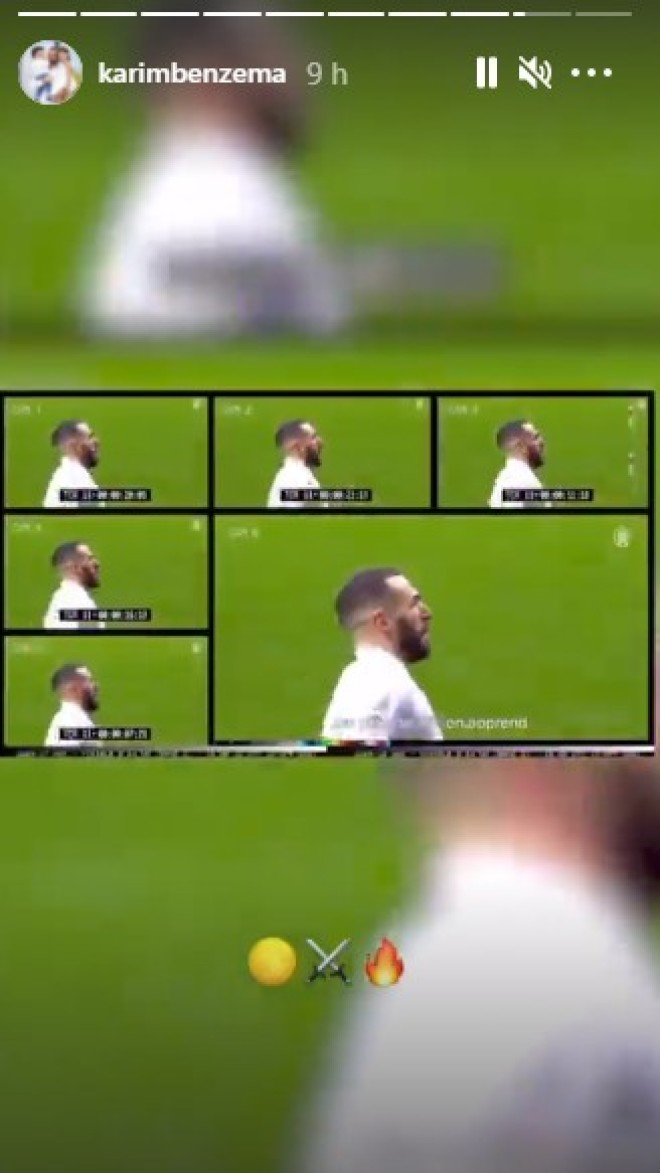 Karim Benzema réagit au clin d'œil de Booba dans le son ''Dragon''
