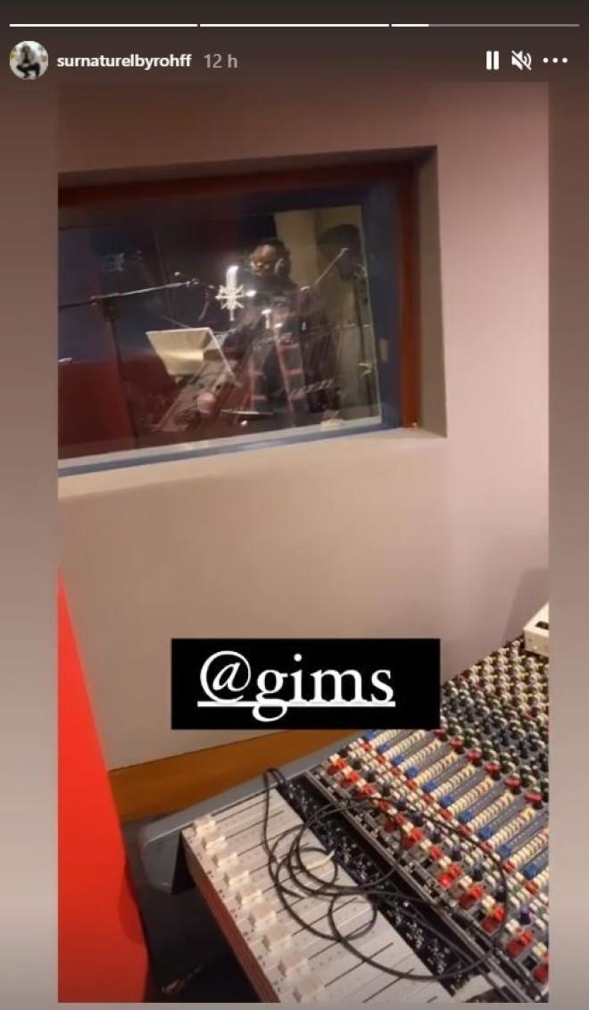 Rohff et Gims en studio pour enregistrer leur collaboration