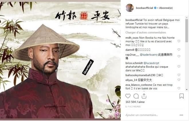 Booba se moque de Kaaris avec un accent chinois et justifie son refus de signer le contrat !