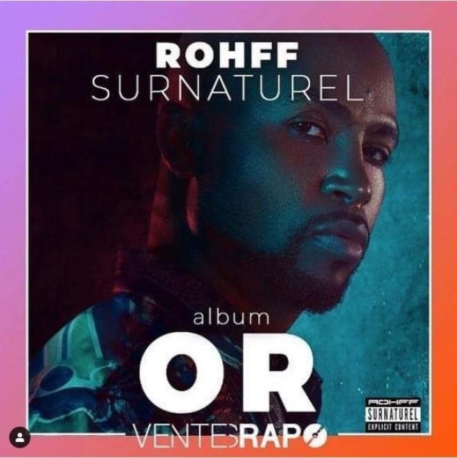 """L'album """"Surnaturel"""" de Rohff certifié disque d'or !"""