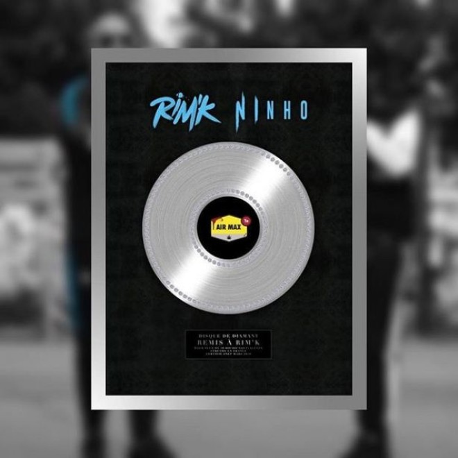 Le titre ''Air Max'' de Rim'k feat Ninho est certifié single de diamant !