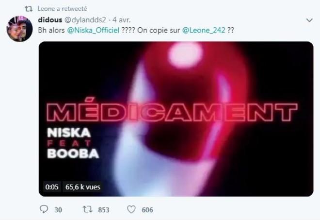 Niska a t-il plagié sur une autre musique pour faire son dernier titre ''Médicament''