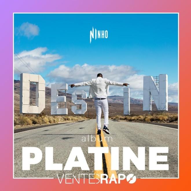 Ninho certifié disque de platine avec son album ''Destin'' en 3 semaines seulement !