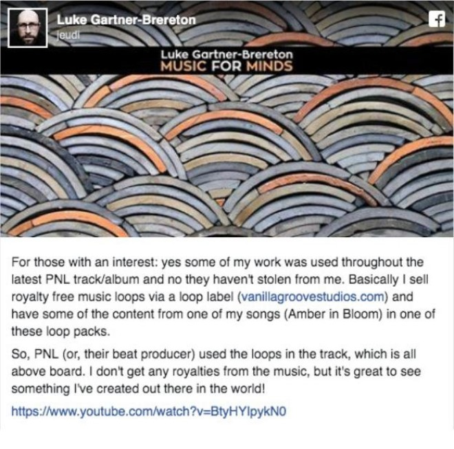 PNL avait été accusé de plagiat dans leur titre ''Au DD'', l'artiste plagié répond !
